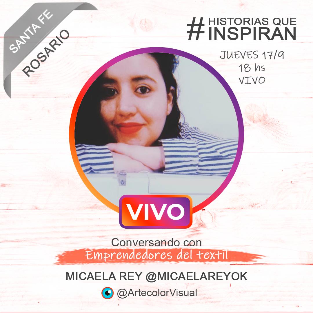 Micaelareyok   Rosario   ArtecolorVisual