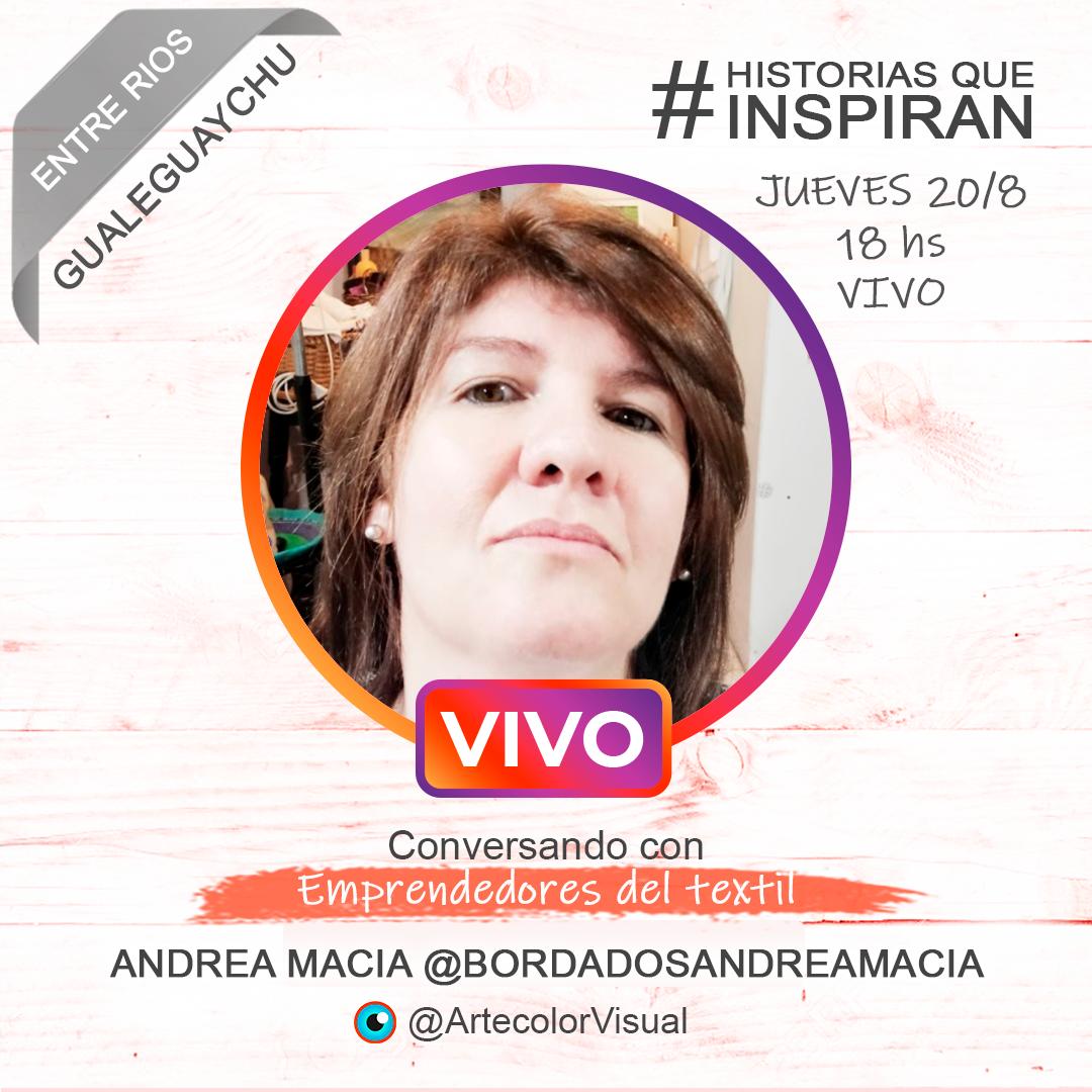 BordadosAndreaMacia | Gualeguaychù | ArtecolorVisual