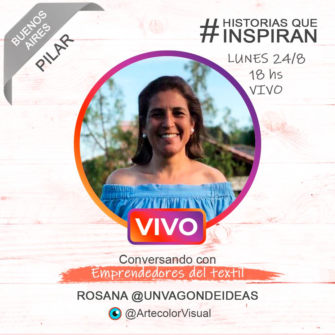 ROSANA UNVAGONDEIDEAS | PILAR | ArtecolorVisual