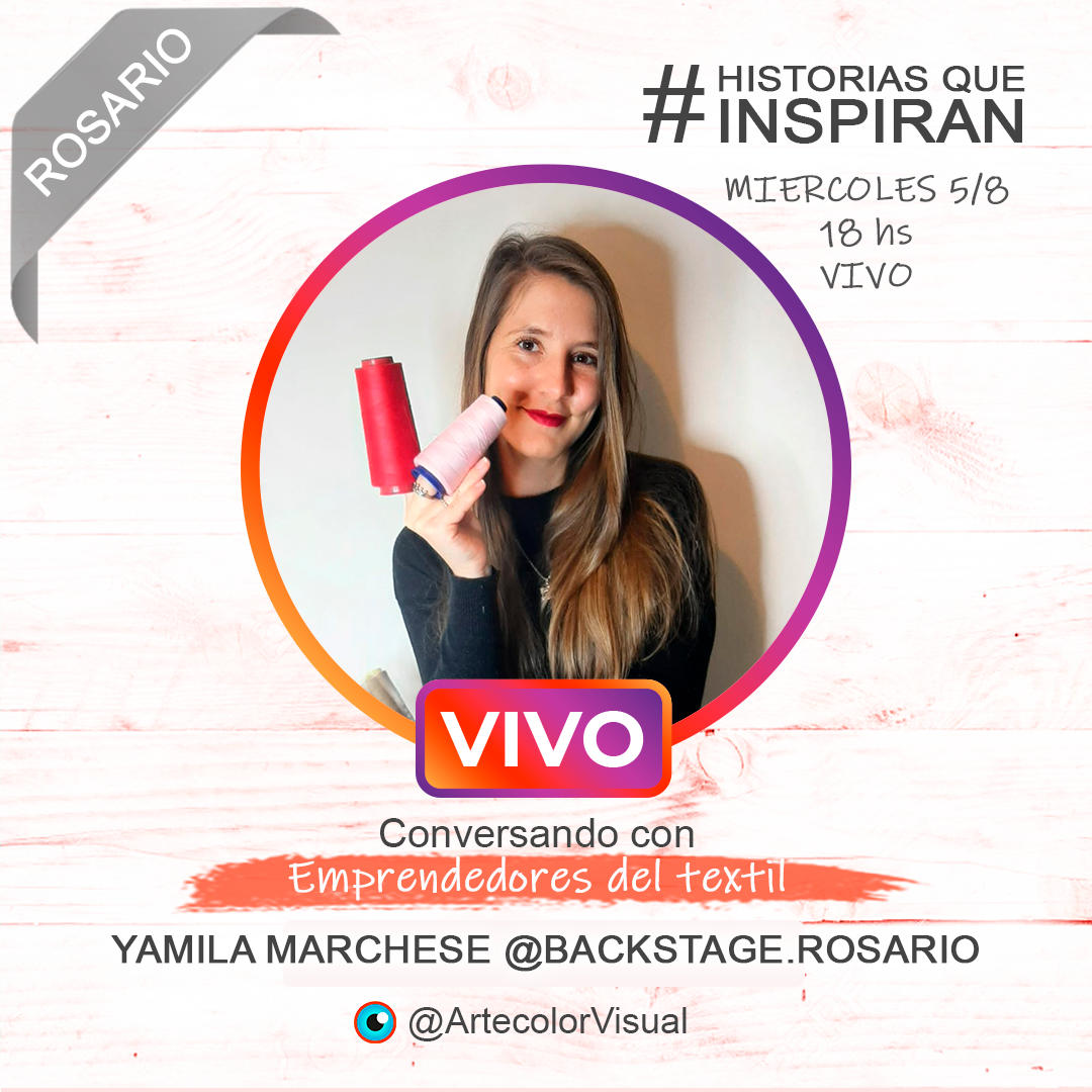 Backstagerosario | Rosario | ArtecolorVisual