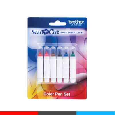 Set de 6 fibras | Brother CAPEN1 | ArtecolorVisual