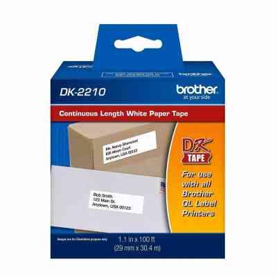 Brother DK-2210 | Cinta continua para etiquetas - 29 mm x 30,48 m | ArtecolorVisual