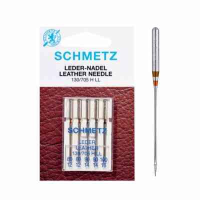 Schmetz - Cuero | Agujas para máquinas de coser surtidas | ArtecolorVisual