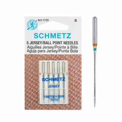 10/70- Jersey | Agujas para máquinas de coser Schmetz | ArtecolorVisual