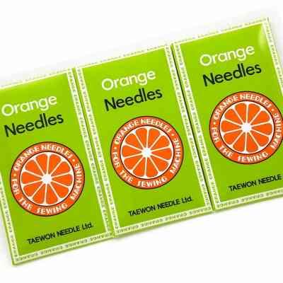 Agujas para máquinas de coser - Orange - ArtecolorVisual