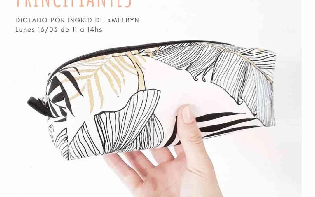 cartuchera XL | Clase de costura gratis | Atelier de ArtecolorVisual