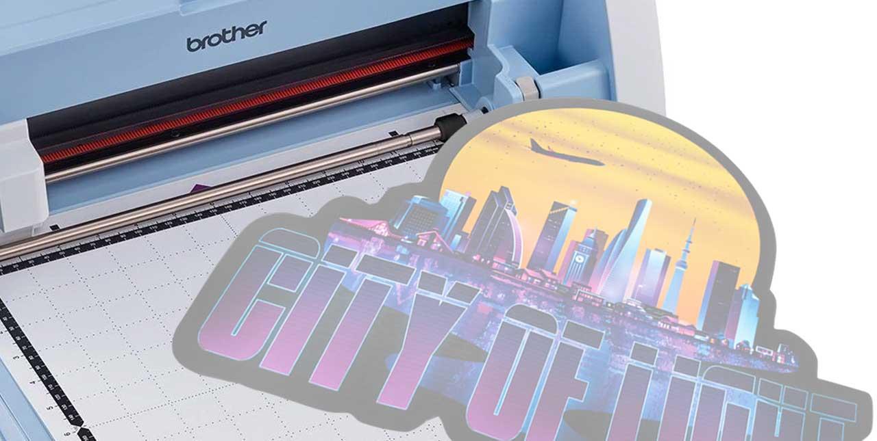 Cortar con plotter el transfer de sublimación directa | Subli Print TEX