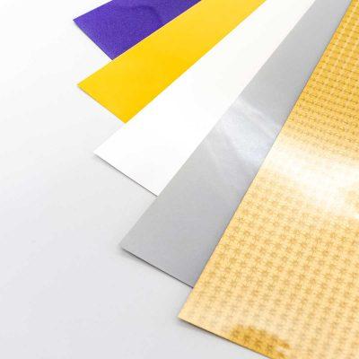 Kit Metalizados | Vinilos textiles brillantes | ArtecolorVisual