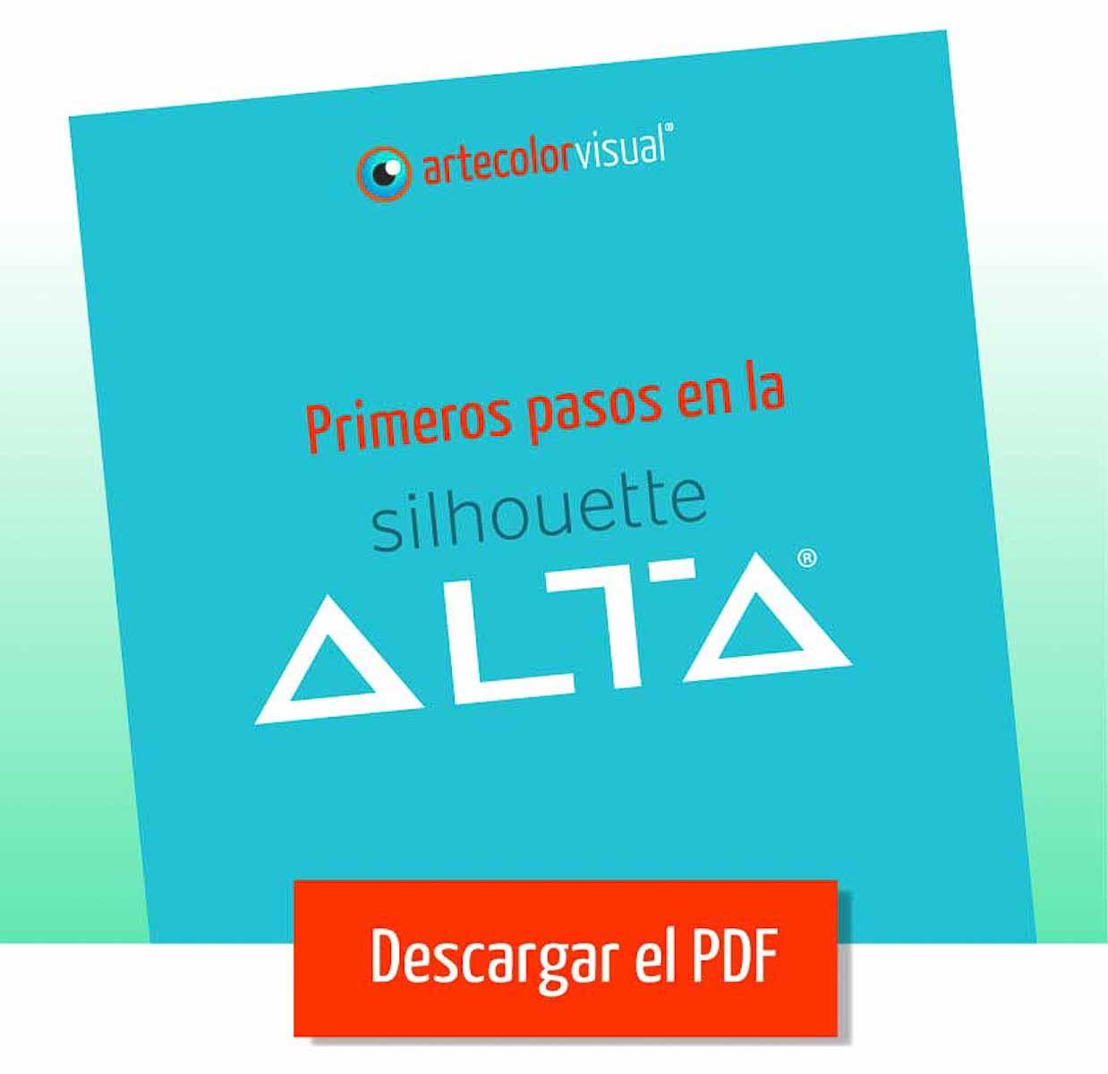 Silhouette Alta | Primeros pasos | ArtecolorVisual
